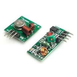 arduino module rf transmitter and receiver 433mhz kit