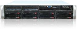 server supermicro 2u cse-825tq-r 2x 740w x10drl 2x e5-2650v4 256gb