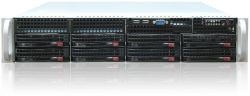 server supermicro 2u cse-825tq-r 2x 740w x10drl 2x 2011-v4 32gb