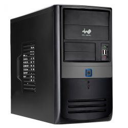 case inwin emr003 bez bloka black-grey